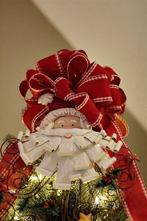 christmas bow topper diy 17 best images about tree topper ideas on trees a tree and trees