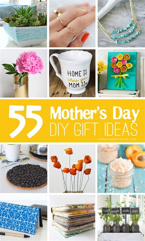 gift ideas mom 40 homemade mother s day gift ideas make it and love it