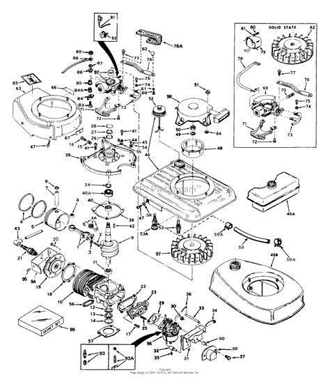35 parts diagram tecumseh av600 643 35 parts diagram for engine parts list