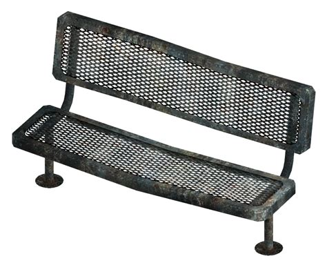 wiki bench image metal bench png the fallout wiki fallout new