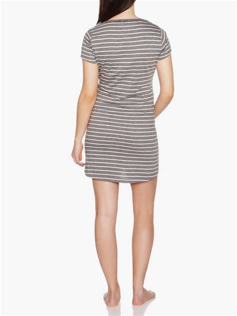 Striped Maternity striped maternity nightdress shop at thyme maternity