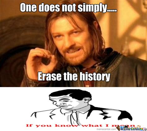 The History Of Memes - erase the history by skusnagi meme center