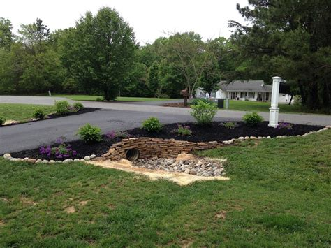 driveway culvert landscaping driveways landscaping and yards
