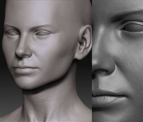 zbrush eyebrows tutorial some z works by tomala page 2