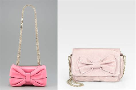 Valentino Purse Deal Valentino Fame Bow Shoulder Bag by Valentino Teaches Us The Difference Between Its Diffusion