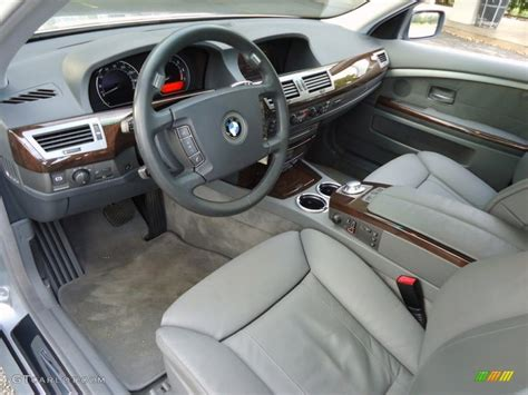 Bmw 7 Series 2003 Interior by 2003 Bmw 7 Series 745li Sedan Interior Photos Gtcarlot