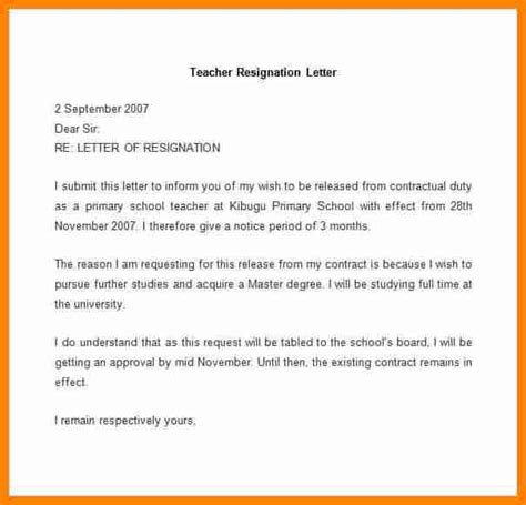 Employment Letter Format India 10 Resignation Letter Format In India Doc Resumed