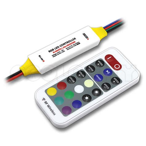 Led Rgb Remot mini waterproof led controller with rf remote for rgb led strips and fixtures