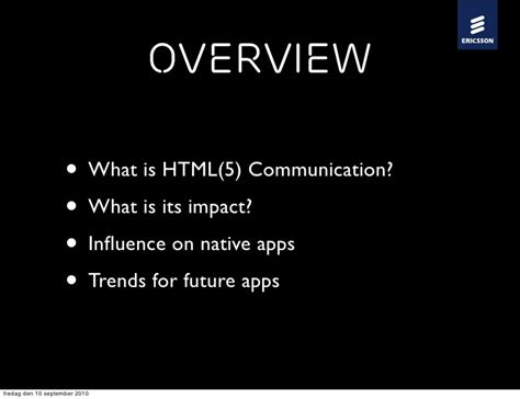 What Does Impact On A Application Html5 Impact On Application Programming