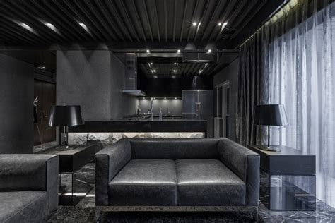 interior design black luxus inneneinrichtung home in black serenity von