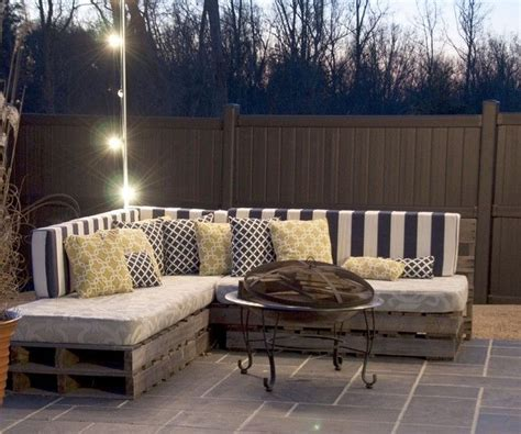 diy making your own pallet patio furniture pallet patio