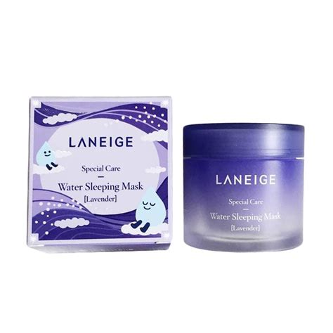Pelembab Laneige jual laneige lavender water sleeping mask 70 ml