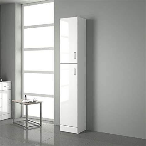 White Gloss Bathroom Storage Gloss White Bathroom Cupboard Reversible Storage Furniture Cabinet Search Furniture