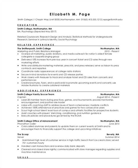 format of resume for freshers pdf 9 fresher engineer resume templates pdf doc free