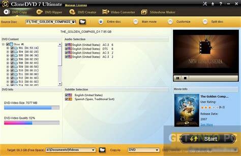Dvd Portable Versia 7 8 clonedvd 7 ultimate portable free