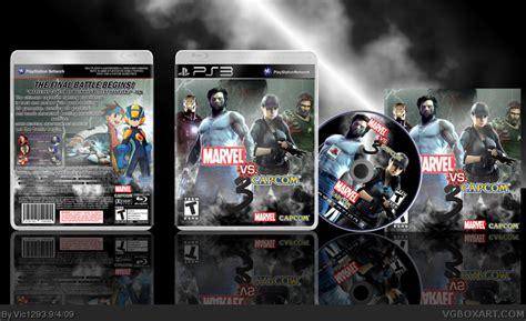 Original Playstation Ps3 Ultimate Marvel Vs Capcom Reg 2 Eu marvel vs capcom 3 playstation 3 box cover by vic1293