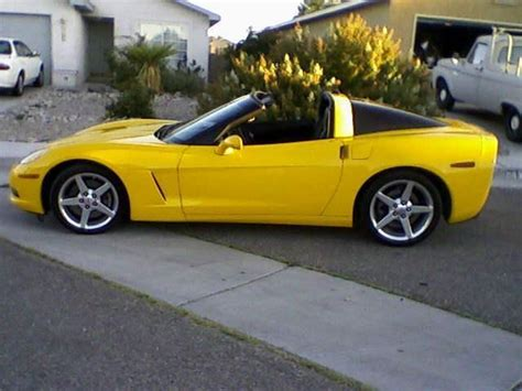 corvette c6 yellow 2005 corvette c6 millennium yellow cars