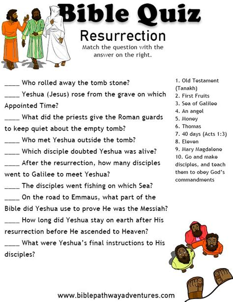 printable easter quiz for adults 1000 images about kids bible lessons on pinterest bible