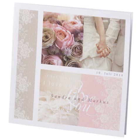 Hochzeitseinladungen Altrosa by Hochzeitseinladung Quot Giovanna Quot Traumhafte Hochzeitskarte
