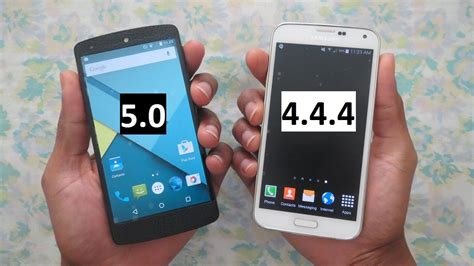android 5 0 nexus 5 nexus 5 android 5 0 vs galaxy s5 android 4 4 4 which one