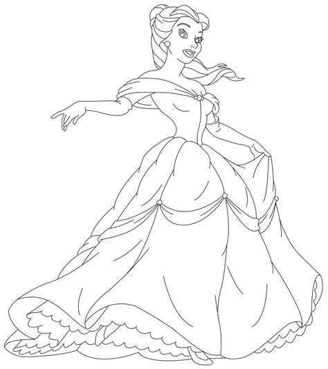 Princess Coloring Pages Belle Disney Princess Mononoke Coloring Pages Free Coloring Sheets