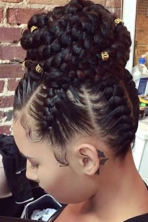 Braided Hairstyles On by Best 25 Black Braided Hairstyles Ideas On