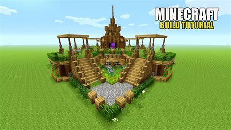Minecraft Garden Ideas Minecraft Beautiful Garden Garden Decoration Ideas Underground Survival Base Tutorial