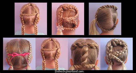 easy hairstyles for last day of school abc hair kindergarten in hairland