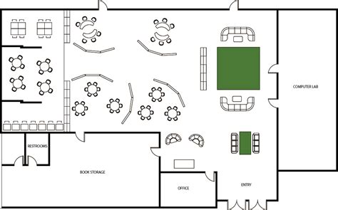 school library floor plans transforming frontier high school library osl lab 2015