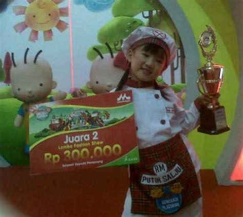 Kostum Chef Anak By Edutoys kostum pemenang lomba sewa kostum anak di jakarta dan