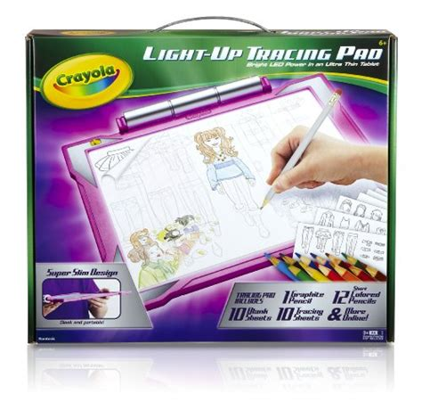 crayola light up board crayola light up tracing pad pink coloring board for