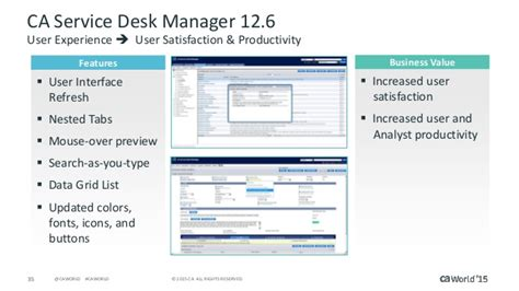 Service Desk Supervisor by What S New In Ca Service Management