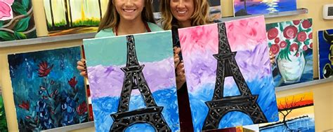 paint with a twist eiffel tower painting the eiffel tower as