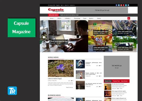 html magazine themes comfortable html magazine template pictures inspiration