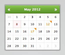 Kalender Html Date Picker 183 Html Css Code Snippets 183 Cssflow
