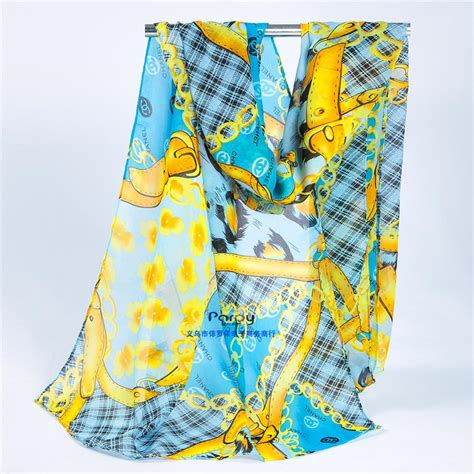 carriage chain new scarf brand desigual scarves