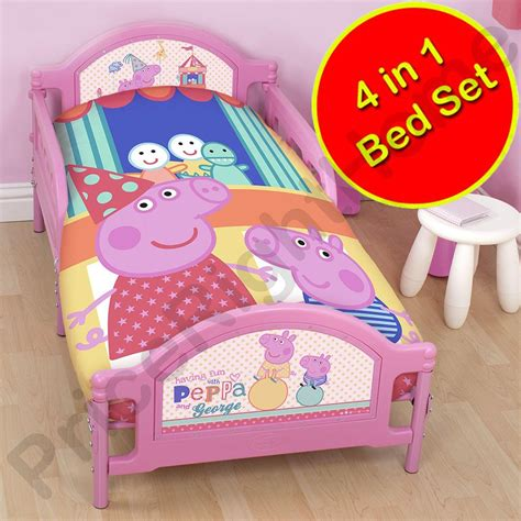 peppa pig bedroom sets peppa pig funfair bedroom range duvet covers junior
