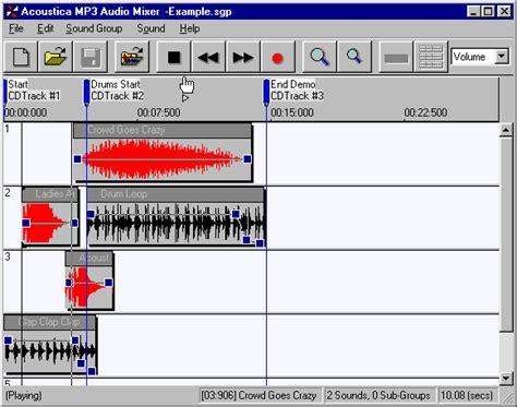 download mp3 cutter and mixer software audio burner com acoustica mp3 audio mixer mp3 editor