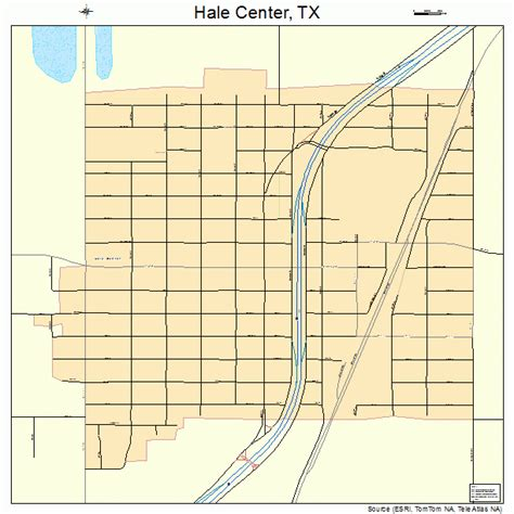 center texas map hale center texas map 4831820