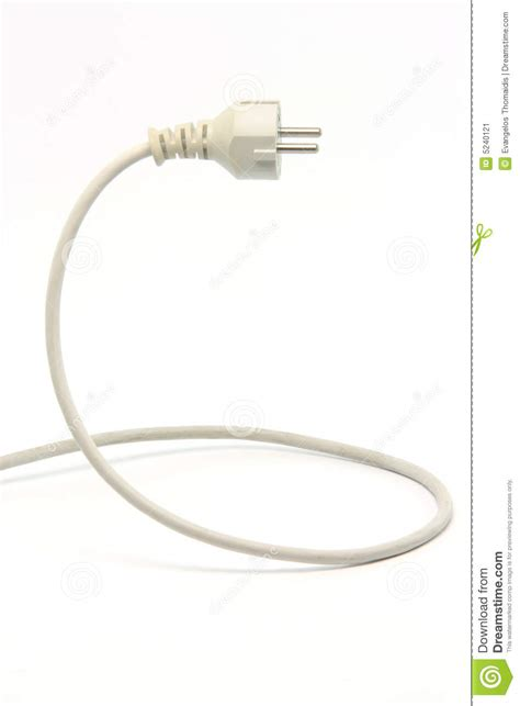 white power cable stock image image 5240121