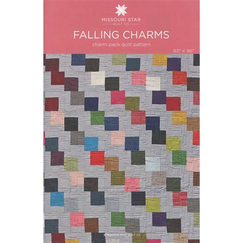 Falling Charms Quilt Pattern by Falling Charms Pattern Sku Pat760 Missouri Quilt