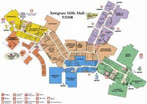 mapa tiendas sawgrass mills miami