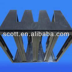 air filter frame material v cell air filter frame for rigid filters v bank abs