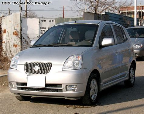 Kia Morning Car 2004 Kia Morning Pictures 1000cc Gasoline Ff