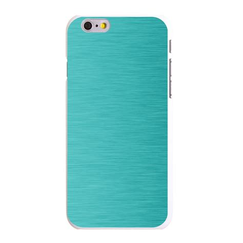 Casing Iphone X Custom Hardcase Cover custom cover for iphone 5 5s 6 6s plus teal stainless steel print ebay