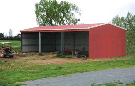 Farm Sheds Nz by Protect Your Farm Assets With A Steel Implement Shed