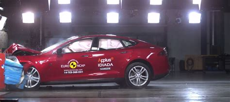 Tesla Model S Crash Rating Tesla Model S Crash Tested Awarded 5 Ncap