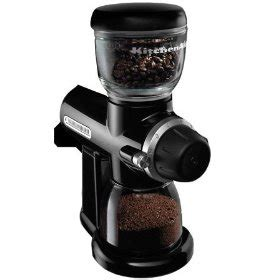 I just purchased a Kitchenaid Pro Line Burr Coffee Grinder