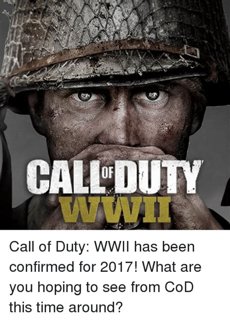 Call Of Duty Memes - call dutv call of duty wwii has been confirmed for 2017
