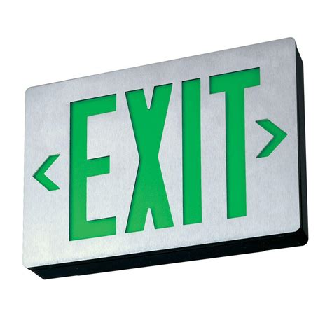 Lu Emergency Exit Led lithonia lighting exit signs best home design 2018